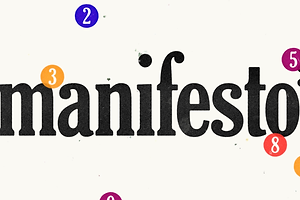 5 Life Lessons From WeTransfer's Excellent Manifesto Series
