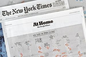 Giorgia Lupi's 2020, in the NYT