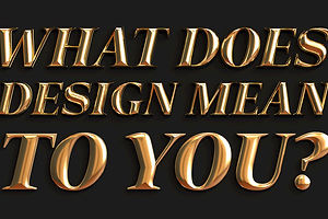 Adobe and PRINT Want to Know: What Does Design Mean to You?