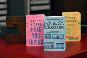Brand of the Day: Field Notes Celebrates Letterpress