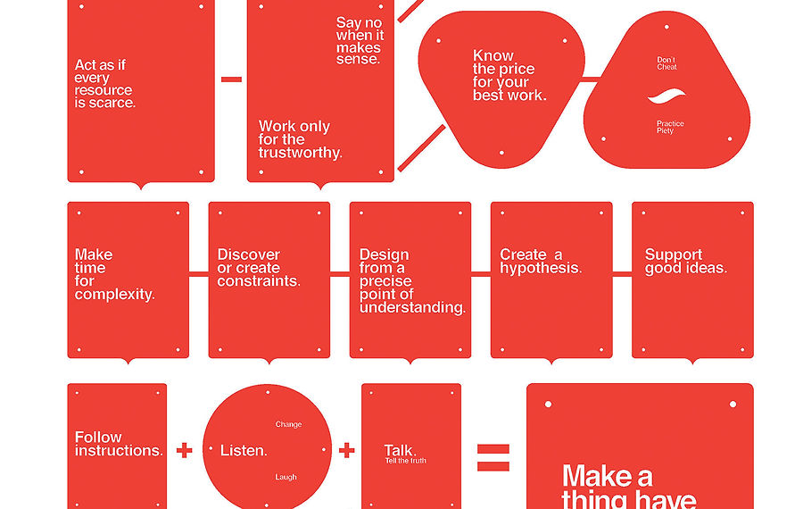 Last-Minute Gifts for Designers: Rick Griffith's Words to Design (and Live) By