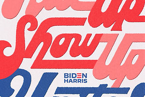 Jessica Hische and Adé Hogue Rally the Creative Community Behind Biden and Harris