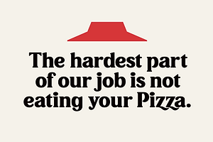 Type Tuesday: No One Out-Pizzas the Pizza Hut Font