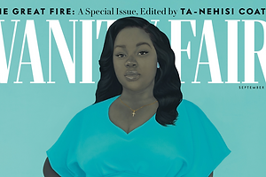 Amy Sherald Paints Breonna Taylor for a Powerful Vanity Fair Cover
