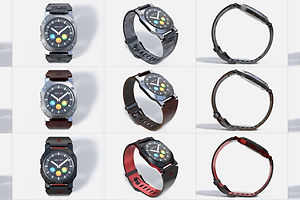 Smartwatch Design Workflow: Bringing XD & Dimension Together for Product Designs