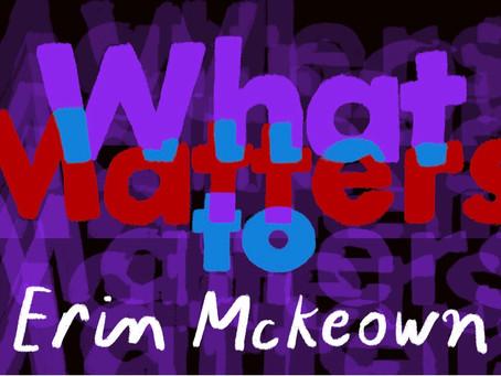 What Matters: Erin McKeown on Stolen Cardboard, Greek Gods and Telling Tattoos