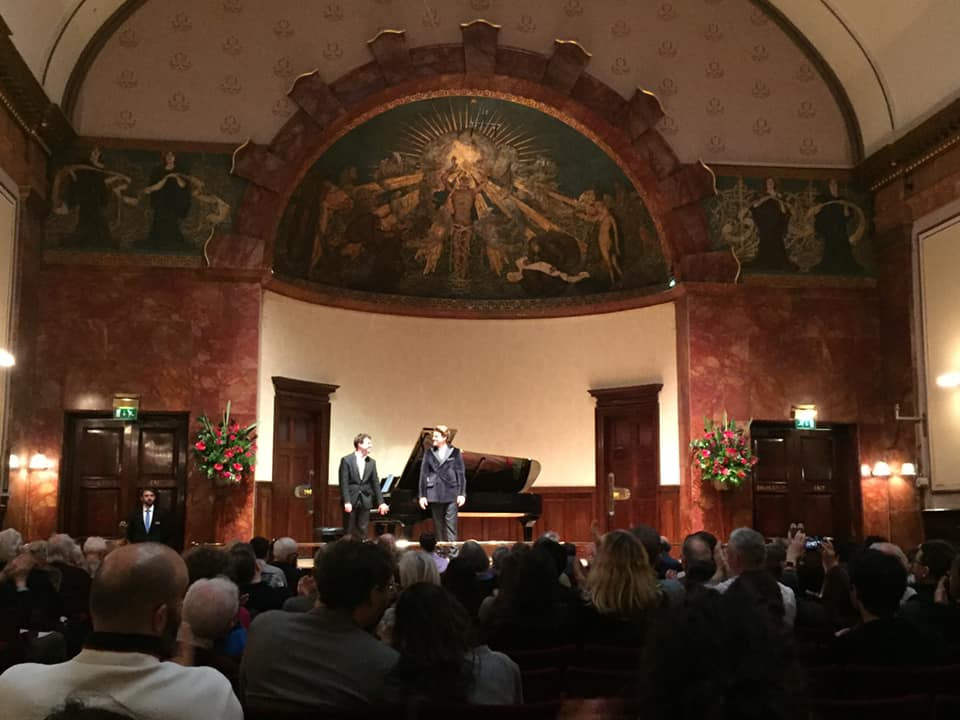 Wigmore Hall with Peter Kellner