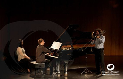 with Gabriel Antão, 1st Trombone in Tonkünstler Niederösterreich