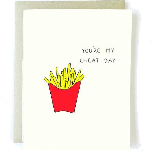 Cheat Day Love Card