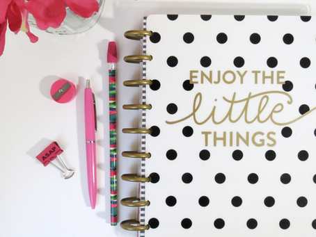 5 Steps To Help You Organize, Plan and Reach Your Goals!