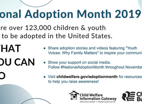 #NationalAdoptionMonth
