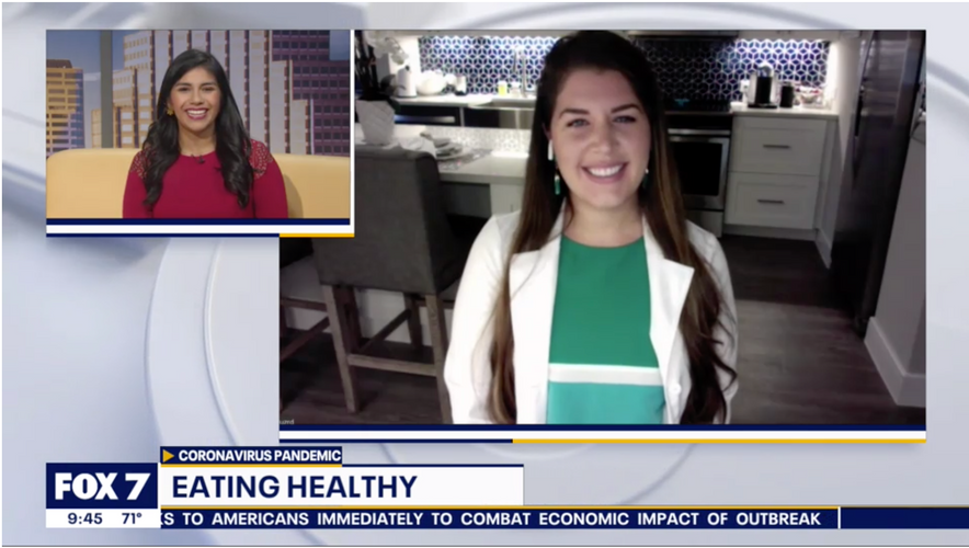 FOX7 Austin - Staying Healthy During Cor