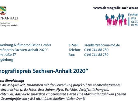 Wir sind Preisträger beim Demografiepreis 2020