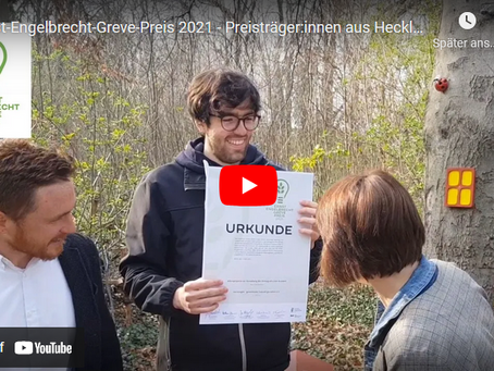 Zweiter Platz beim Ernst-Engelbrecht-Greve-Preis!