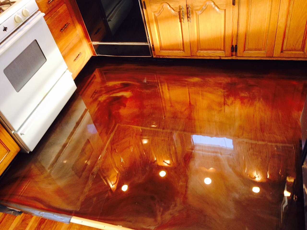 Epoxy Kitchen Floor Commercial Residential Epoxy Flooring Contractor Palisades Nj