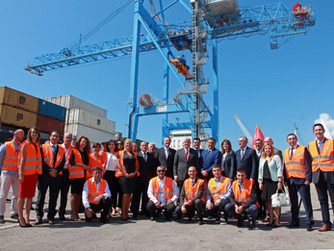 Montenegrin Prime Minister at Port of Adria: It is a privilege is to have such a company in Monteneg