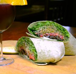 GB  Shaw (vegetarian wrap)