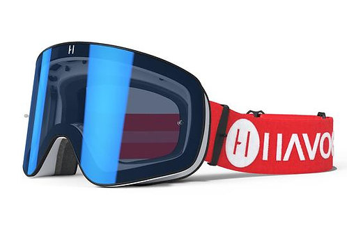 GOGGLES HAVOC MAGNETICOS LIBERTY RED LIGHT BLUE