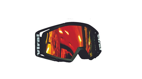 GOGGLES VIRAL COMP SERIES BLK/RED MIRROR