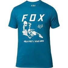 PLAYERA FOX HOLD FAST TURQ