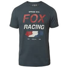 PLAYERA FOX UNLIMITED SS NAVY