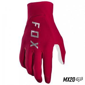 GUANTES FOX. FLEXAIR ROJO/BCO