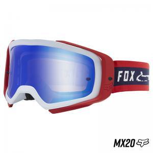 GOGGLES FOX AIR SPACE SIMP SPARK WHITE RED