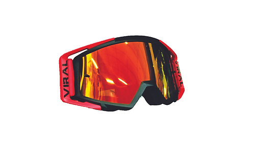 GOGGLES VIRAL COMP SERIES RED/BLK
