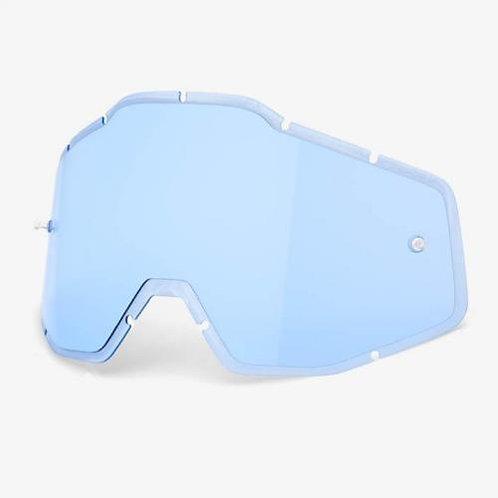 MICA 100% RACECRAFT ACCURI STRATA LIGHT BLUE ANTI FOG