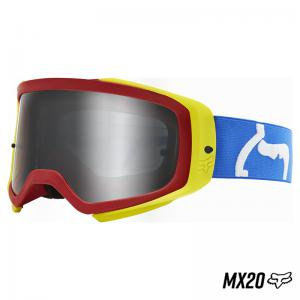 GOGGLES FOX. AIR SPACE PRIX RED/YELL/BLUE