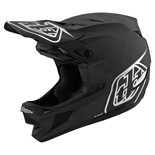 CASCO TLD D4 CARBON STEALTH BLACK SILVER