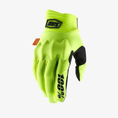 GUANTES 100% COGNITO D30 AMAR FLUO/NGO