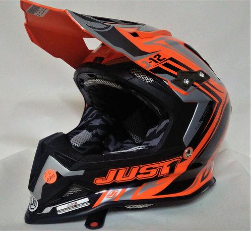 Casco JUST1  FLAME J12 CROSS