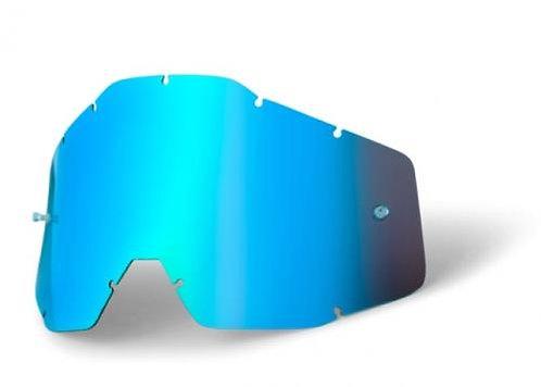 MICA 100% RACECRAFT ACCURI STRATA LIGHT BLUE MIRROR