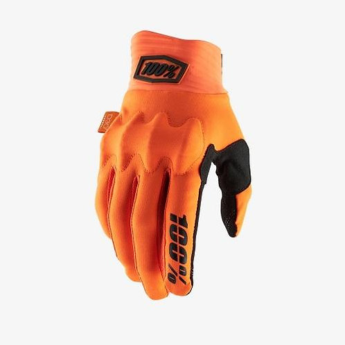 GUANTES 100% COGNITO D30 NJA FLUO/NGO