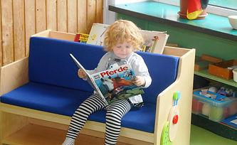 Lesen in der Lese-Ecke