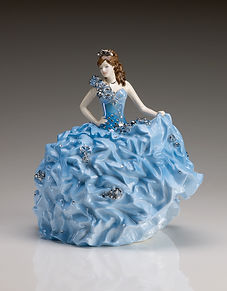 Royal Staffordshire Figurines Crystal Bride by Sondra Celli