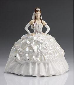 Royal Staffordshire Figurines Gypsy Bride: Butterflies