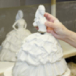 Gypsy Bride Butterflies by Royal Staffordshire figurine in production