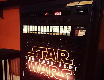 Star Wars Cigarette Machine