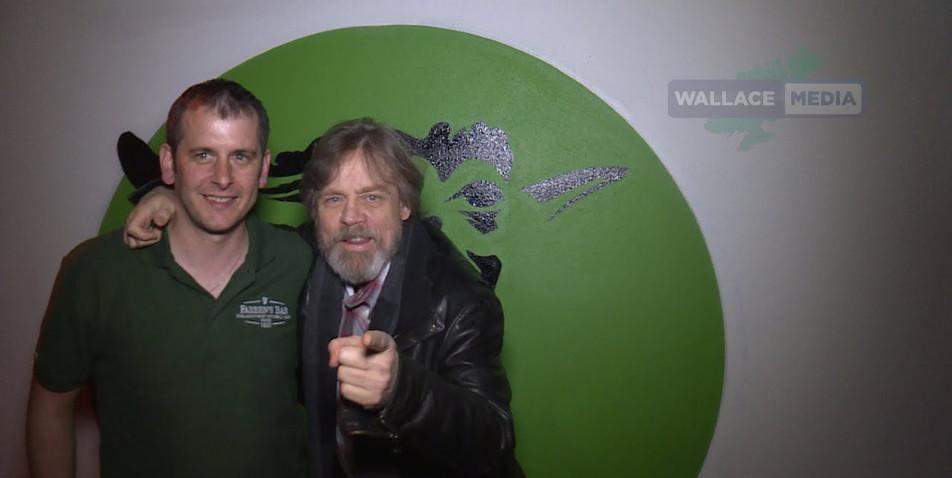Video of when Mark Hamill visit Farrens Bar