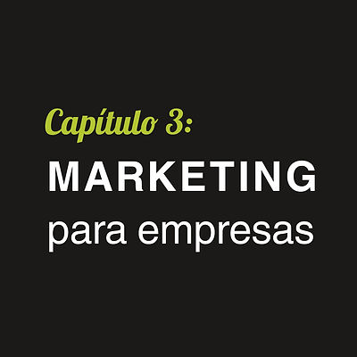 Marketing para empresas Cap.3