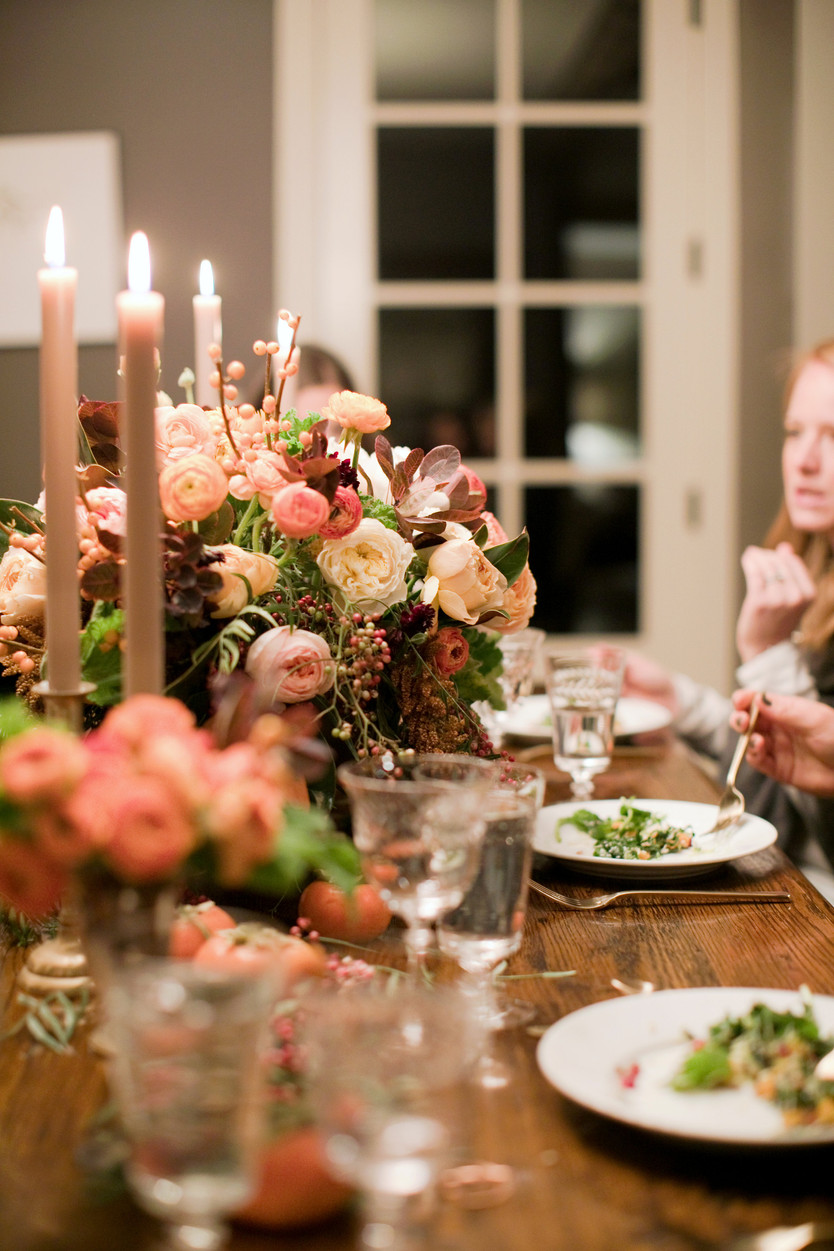 Autumn Dinner Party with the Scout Guide Girls!