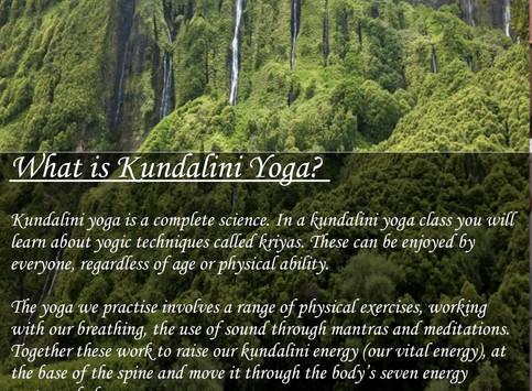 Kundalini Yoga Masterclasses in Sao Miguel's Island-Azores