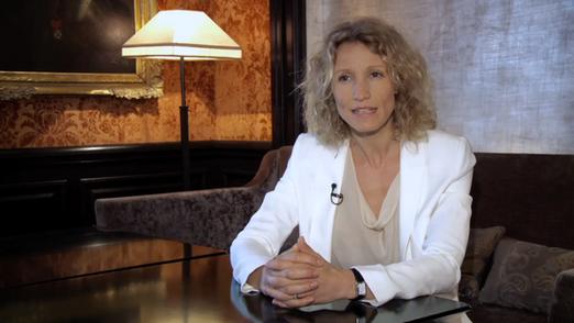 Entretien avec Alexandra Lamy pour Mirabaud