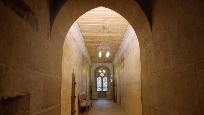 Visite du château St-Maire - client: Etat de Vaud