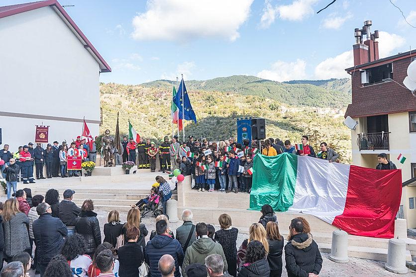 Si festeggia a Sorbo San Basile la Giornata dell'Unità Nazionale e delle Forze Armate