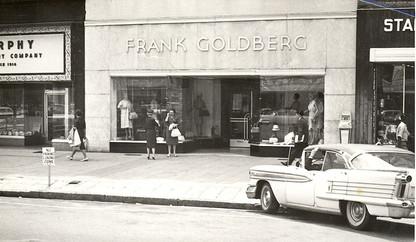 Frank Goldberg Clothing Store