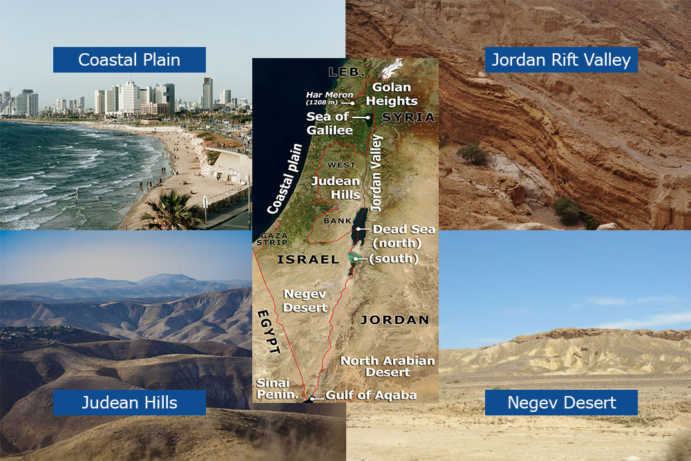 Israel's Geographic Regions