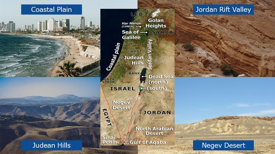 Israel's Geographic Regions